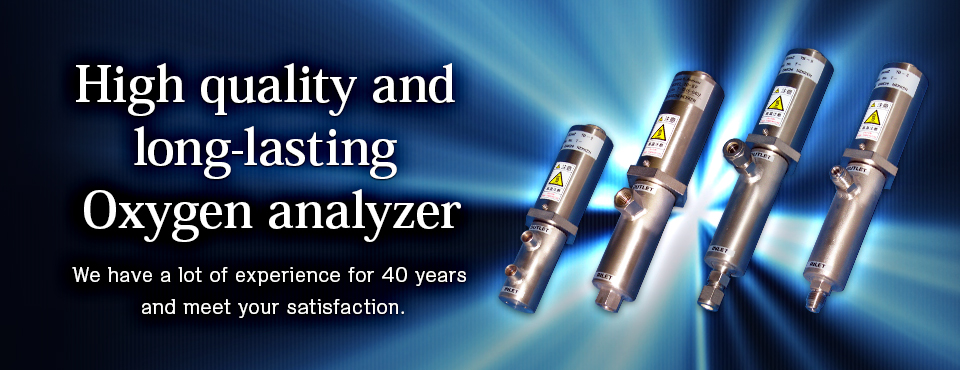 High qutality and long-lasting Oxygen analyzer